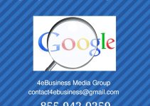 Google My Business Ranking Service 4ebusiness Media Group